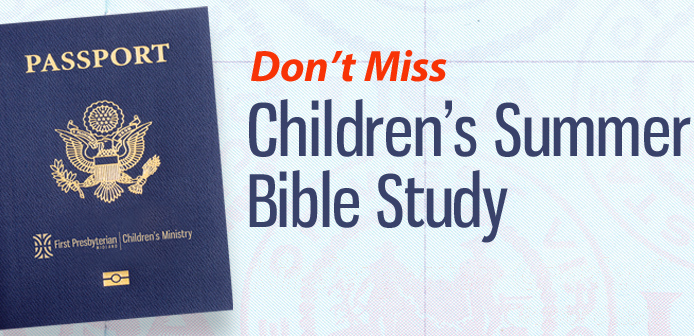 Childrens Bible Study Header