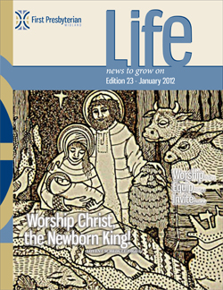 January 2012 Newsletter Cover